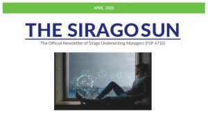 Sirago Broker Communique April 2020